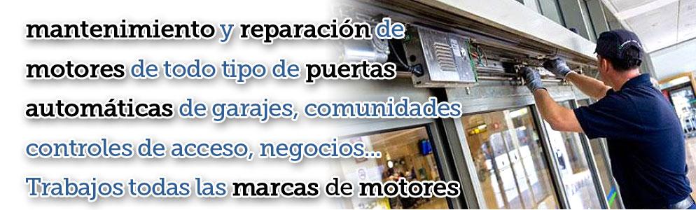 Reparaci n mantenimiento puertas de garaje y autom ticas barcelona - Mantenimiento puertas de garaje ...