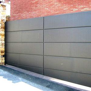 Puertas de garajes barcelona puertas correderas autom ticas for Puertas corredizas metalicas
